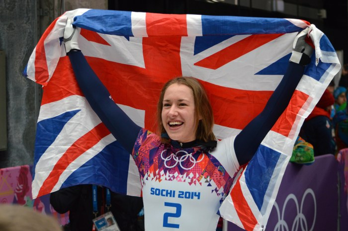 Lizzie Yarnold wins gold!