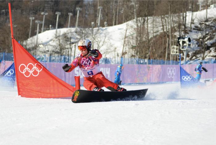 Men's snowboard parallel slalom